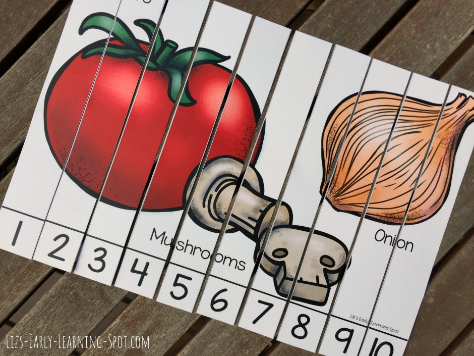 6 free skip counting puzzles for your little ones to enjoy playing with!