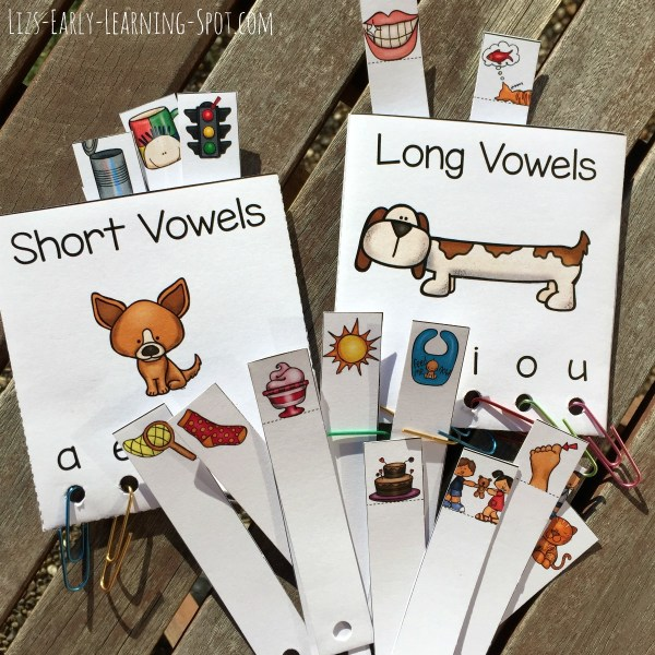 Sort these long and short vowels, and practice reading, too with this free activity!