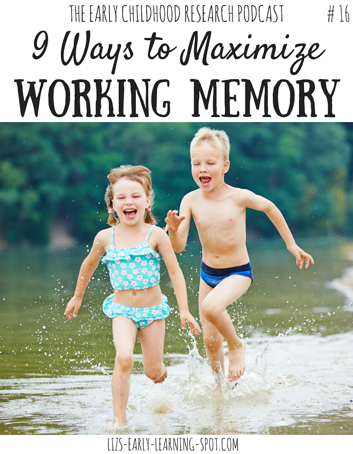 If your child is super forgetful they may need help boosting their working memories. This post tells you how!