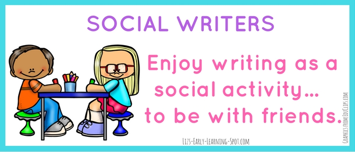 Social writers love nothing better than hanging out with their friends while they're learning! Find out more on the post.
