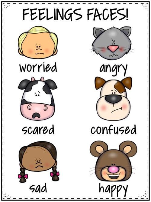 Kids will enjoy pulling faces playing this free board game focused on expressing feelings!