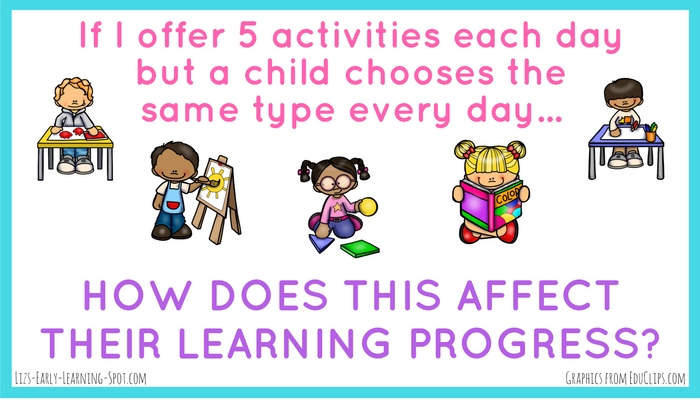 The daily play choices children make affects their emergent writing skills. Check out the post for more details!