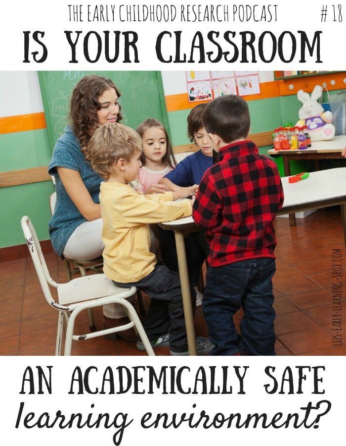 Is Your Classroom an Academically Safe Environment? #18