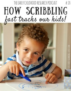 How Scribbling Fast Tracks our Kids #20