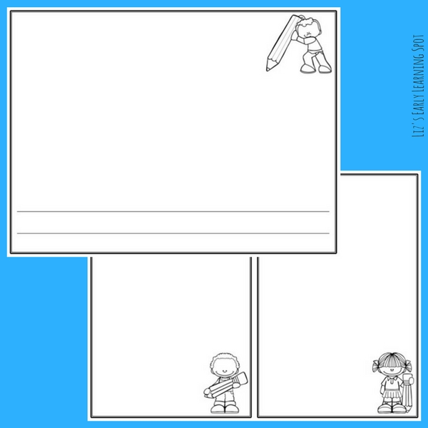 Scribbling is important to a child's development. Grab these free pages to encourage your little one to scribble and chat away!