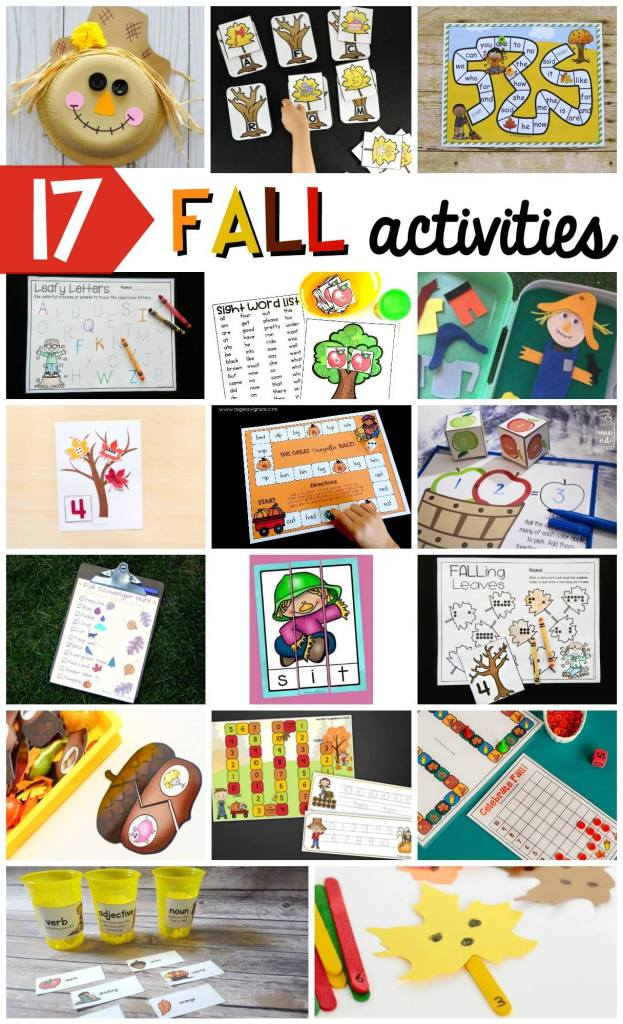 17 wonderful early learning ideas for fall!