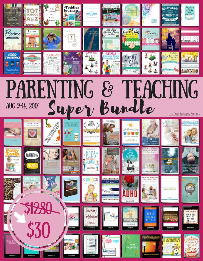 Wow! For a limited time this parenting bundle is 98% off!