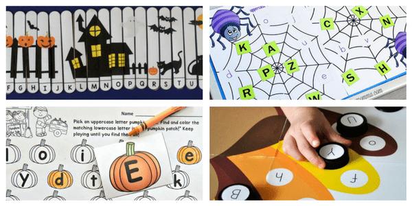 16 Halloween Alphabet Activities | Liz\'s Early Learning Spot