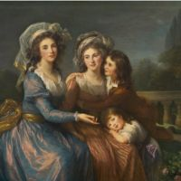 The Marquise de Pezay and Sons - Vigée-Le Brun