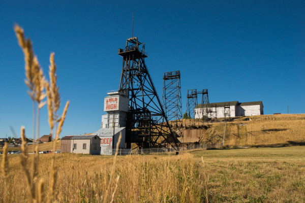 Head Frame, Butte, MT