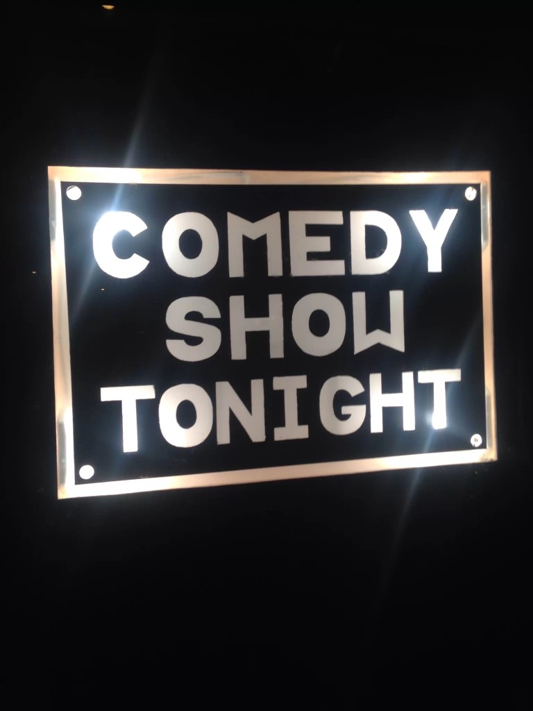 Comedy show tonight