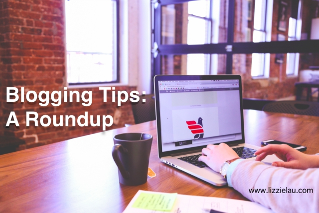 blogging tips roundup for blog post