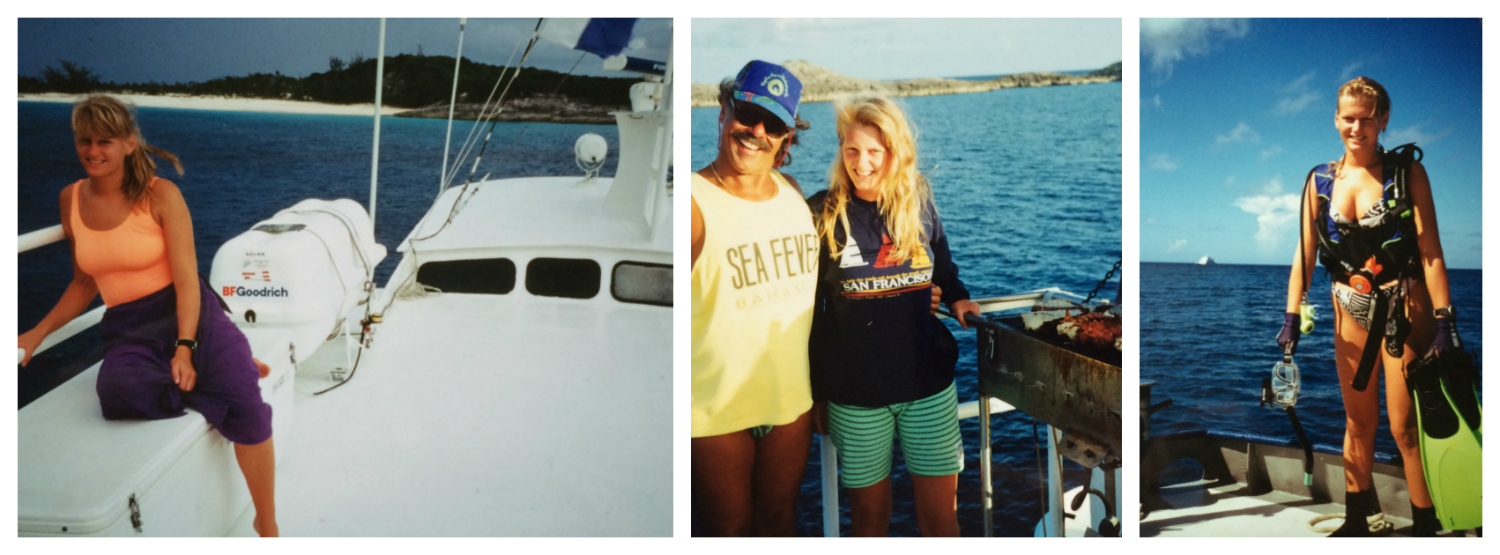Bahamas 1992 collage 2