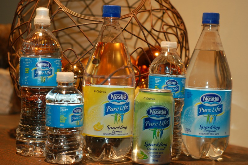 Variety of Nestle Pure Life Water