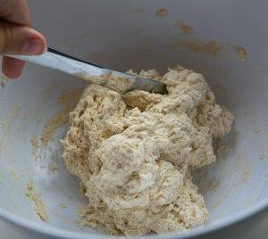 naan dough in a bowl