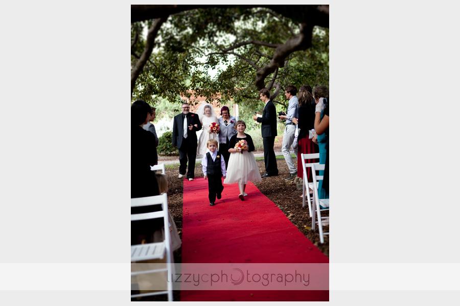 Wedding photography st kilda botanical gardens
