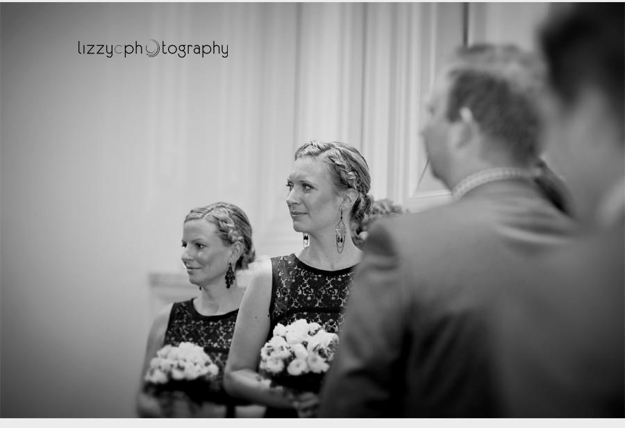 Wedding Ceremony indoors Comme