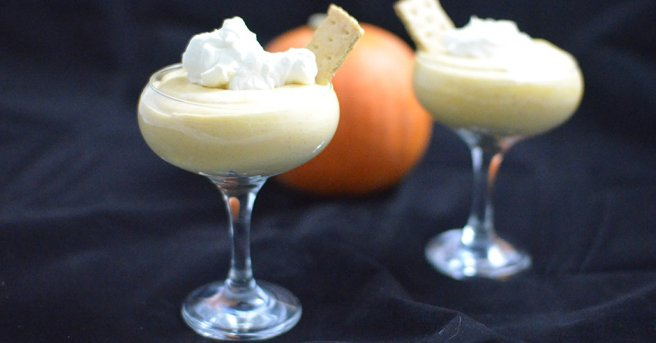 Sugar-free Pumpkin Mousse