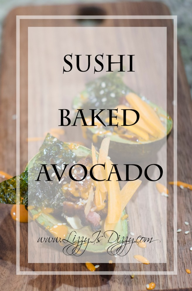 OMG Sushi baked avocado? Don't mind if I do!