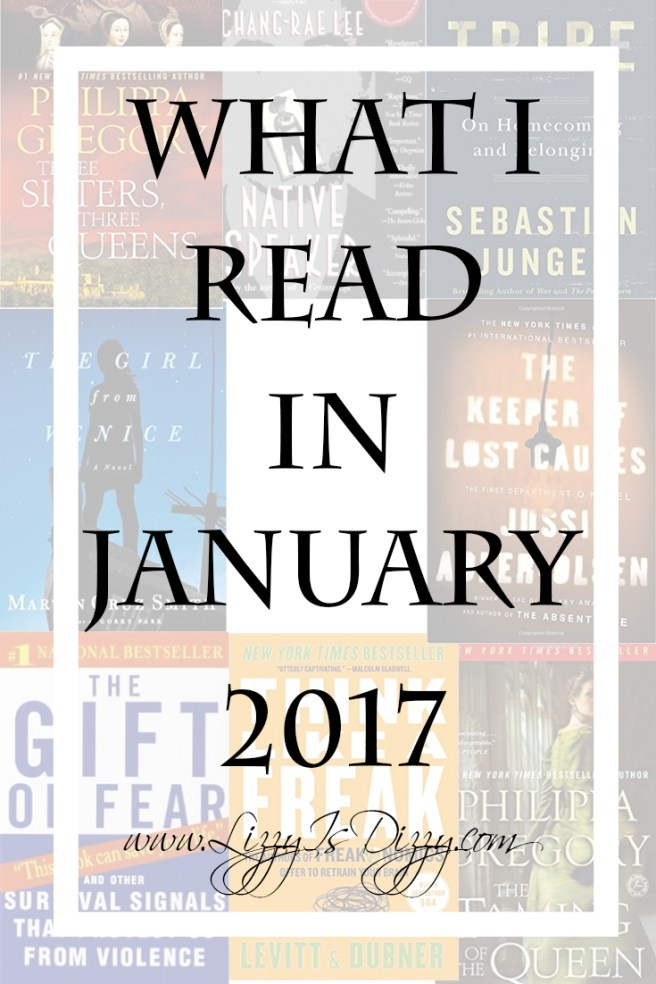 A list of my reviews for what I read in January (8 books!)