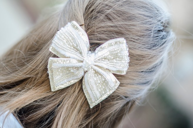 This hair pin doubles as a brooch!