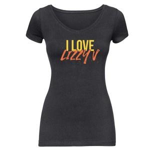 "Dames T-Shirt ""I Love Lizzy V"""