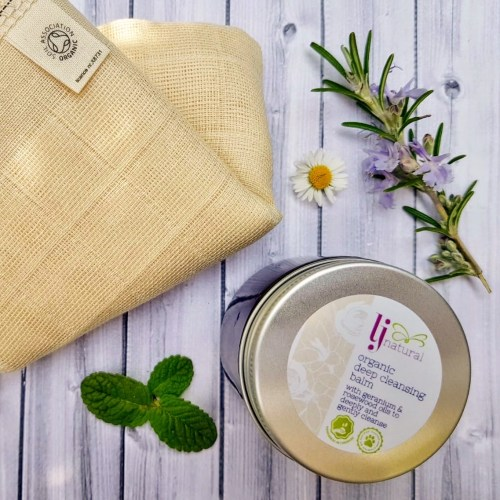 organic deep cleansing balm LJ Natural handmade sustainable