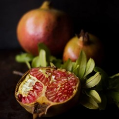 Pomegranate oil in Neck Serum