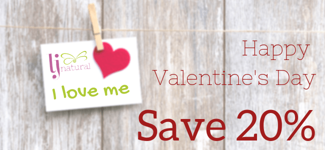 I love me valentine gifts organic beauty products UK