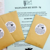 wild flower bee seeds let's help to save bees by providing habitat
