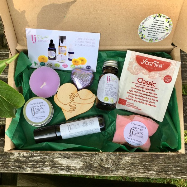 Letter Box Gift make someones day handmade organic beauty products zero waste plastic free