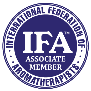 IFA_logo_ASSOCIATE-MEMBER international federation of aromatherapists