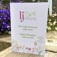 LJ inspirational notebook