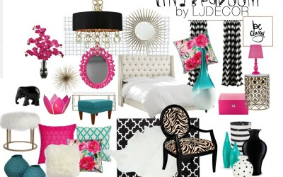 """Tina"" Bedroom- Design Board"