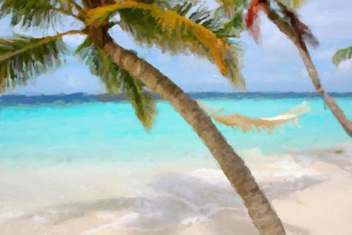 Beach, summer, rest