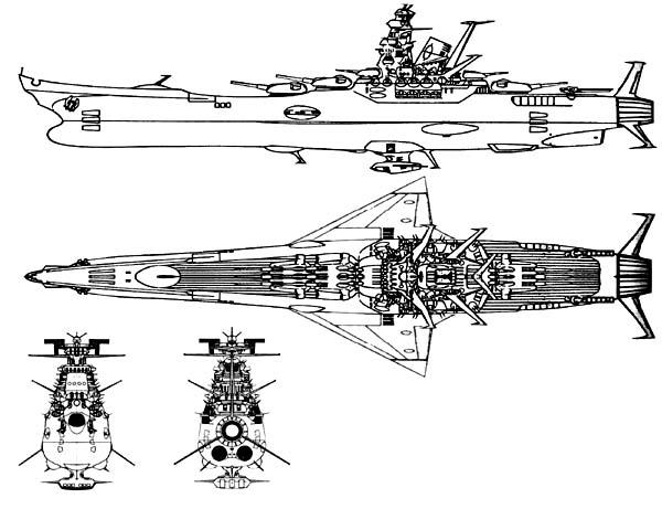 Space Battleship Yamato: ru_scificrafts — LiveJournal