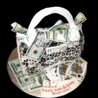 Miche Bag and Edible Money, dice and Cards