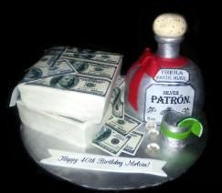 Patron Gift Cake