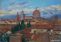 Februar in Florenz 19x28 2014