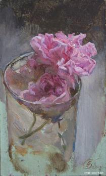 Blumen im Glas