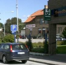 Hörnan där Swedbank fanns...