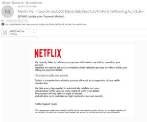 Länkarna går någon helt annan stans än till Netflix!
