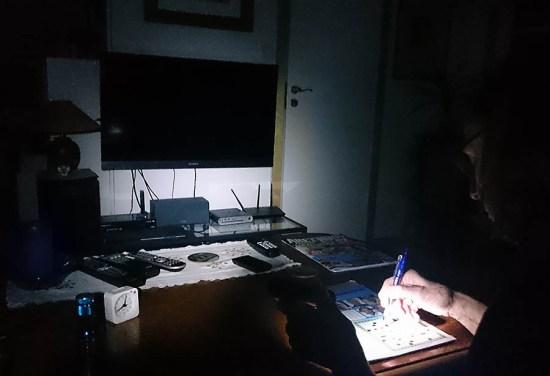 Svarta natta och korsord istället för Uppdrag granskning...