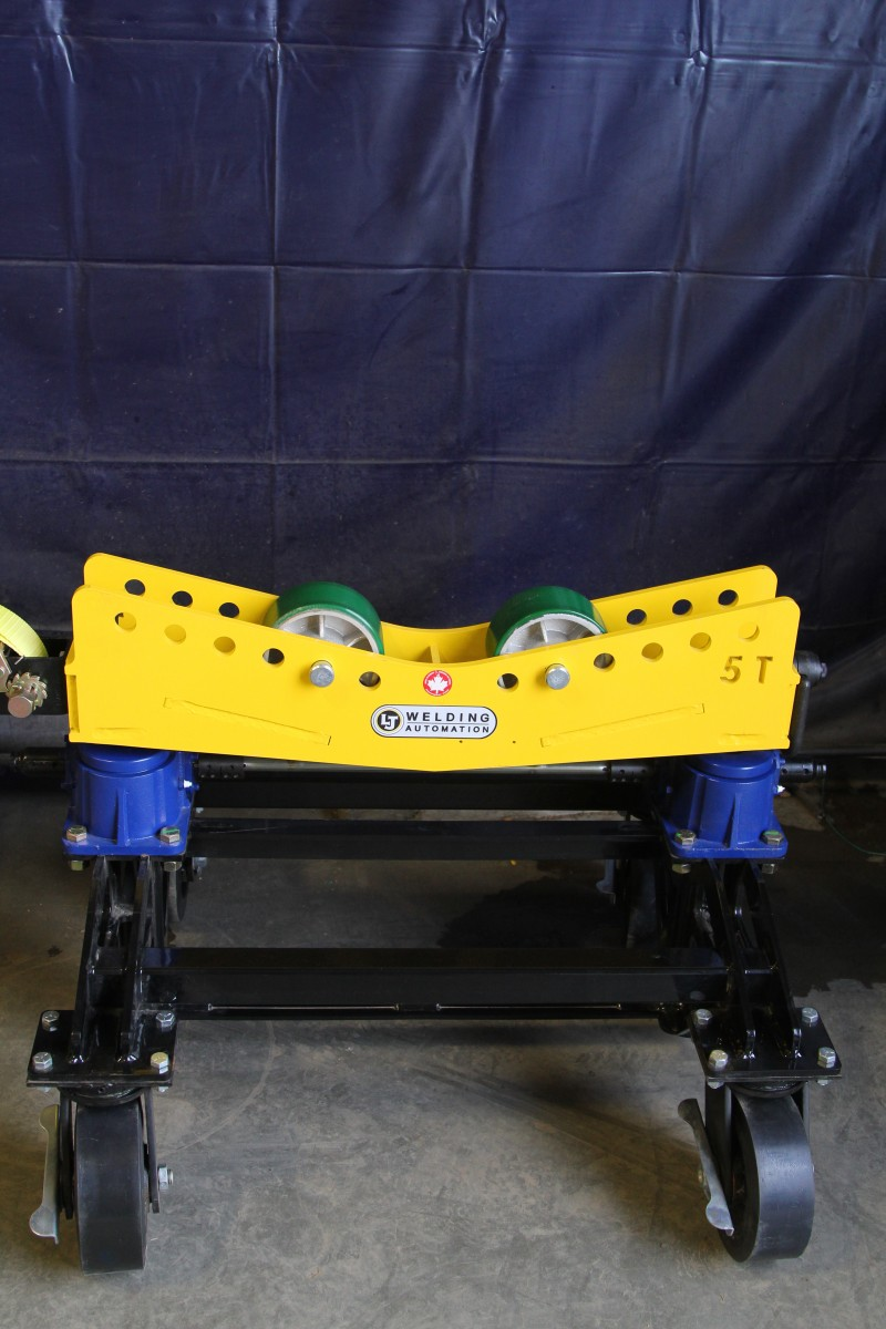 Pipe Roller Stands - Year of Clean Water