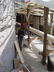 Arbeiten am Baum 23.04.2005 - 01