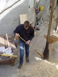 Arbeiten am Baum 23.04.2005 - 03