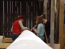 Arbeiten am Baum 23.04.2005 - 08