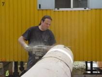 Arbeiten am Baum 23.04.2005 - 28