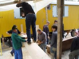 Arbeiten am Baum 23.04.2005 - 49