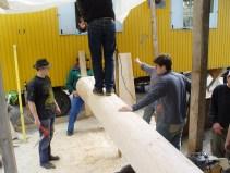 Arbeiten am Baum 23.04.2005 - 51